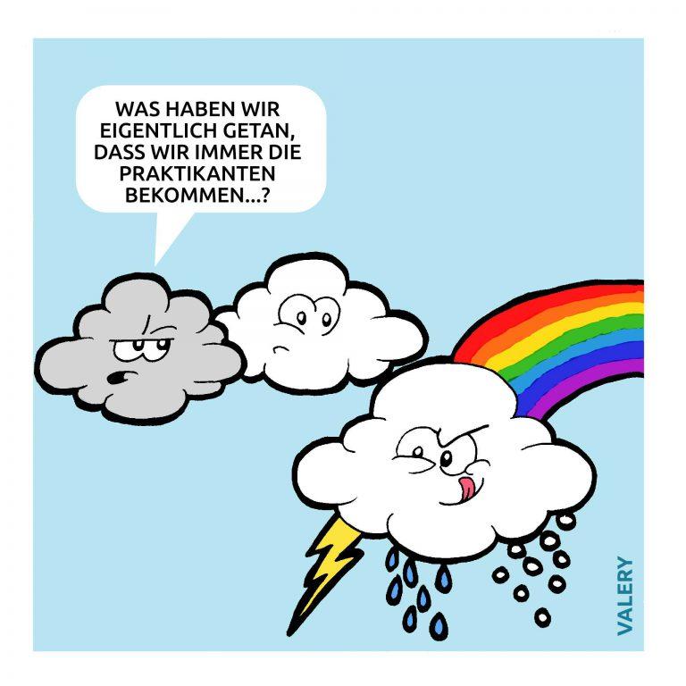 Wetter Cartoon