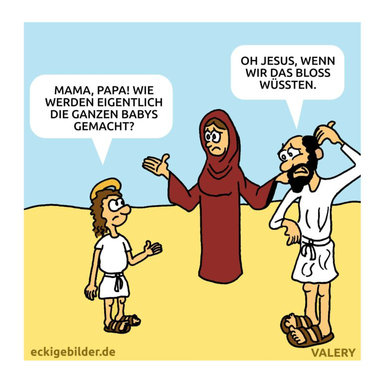 Josef Jesus Maria Cartoon