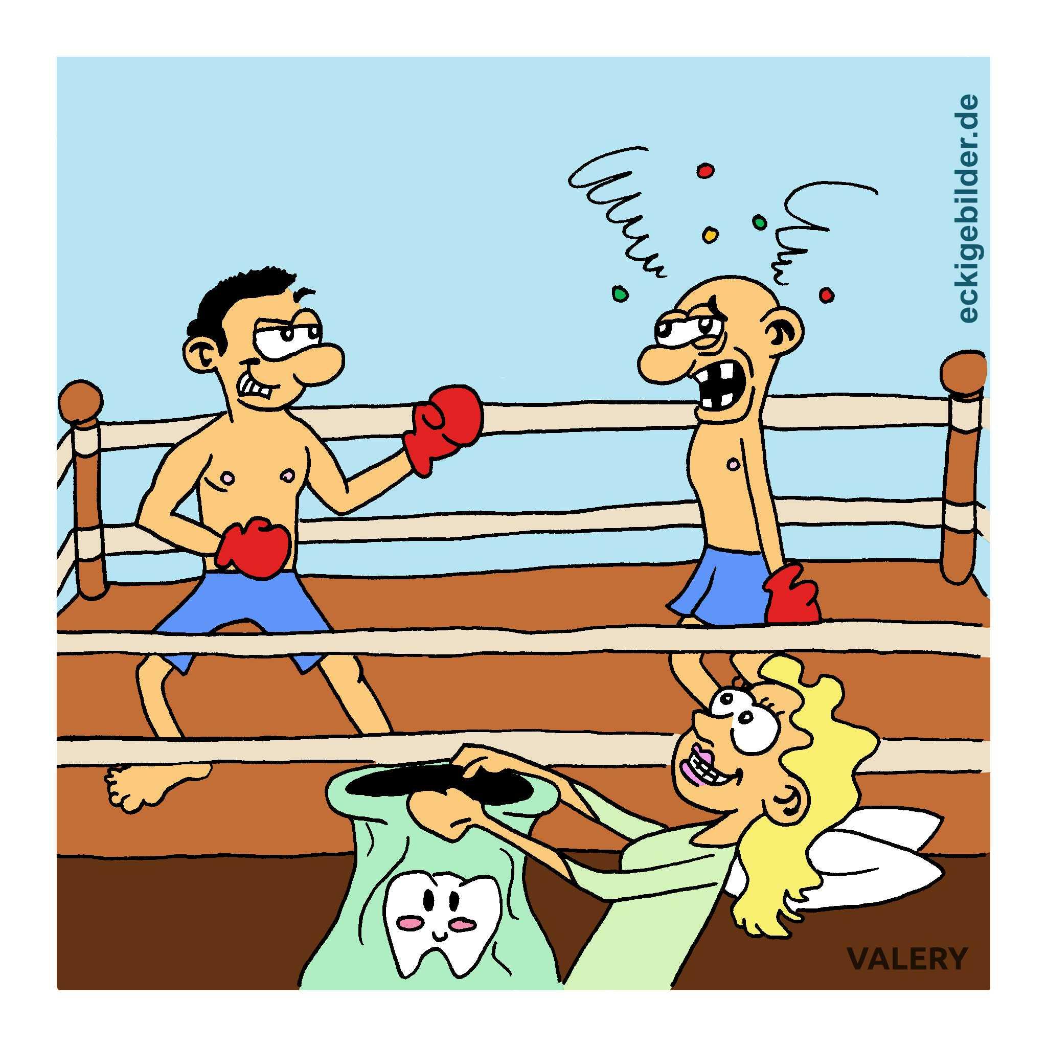 Boxen Cartoon