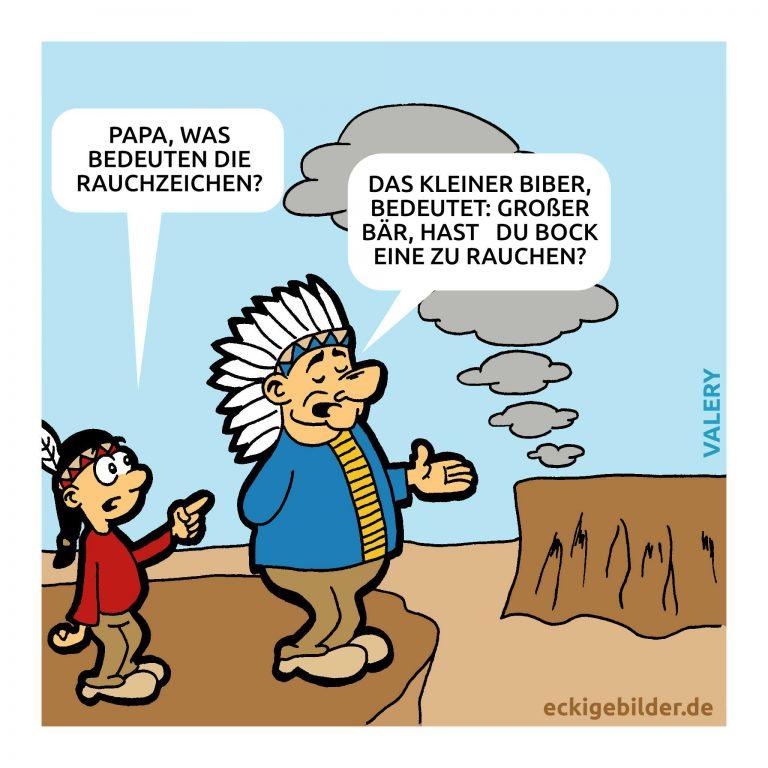Indianer Cartoon