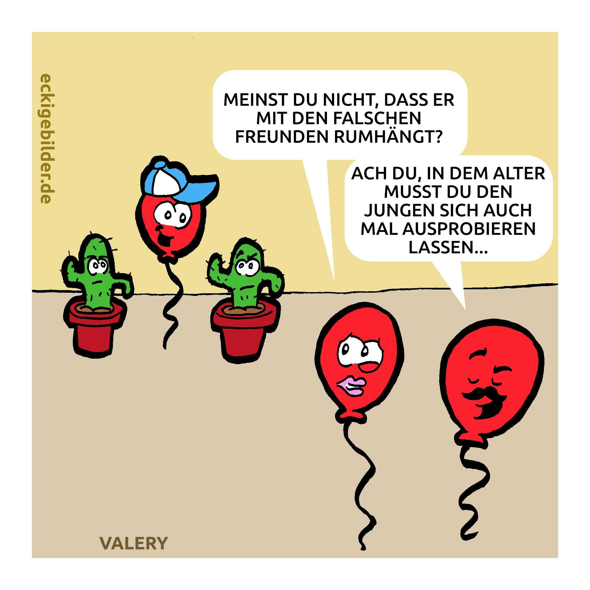 Luftballons Cartoon
