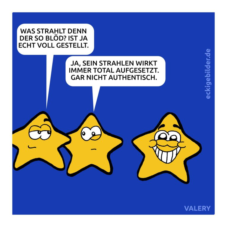 Sterne Cartoon