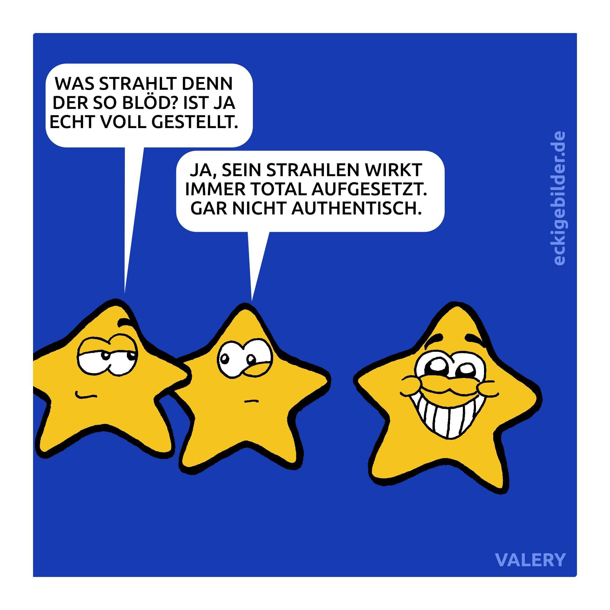 Sterne Cartoon